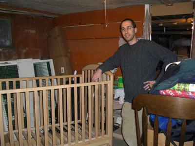 Assembled Crib