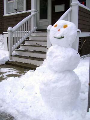 Snowman 2008 Feb 23