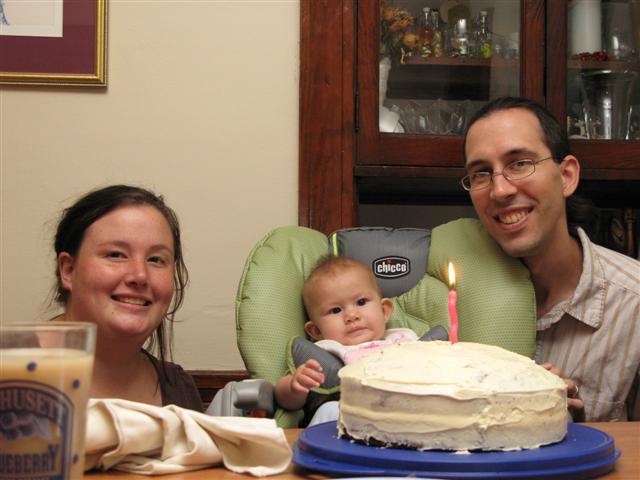 Josie\'s five month birthday