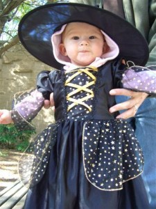 Josie as a witch!
