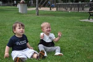 Zach and Josie in June