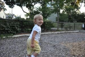 Josie running