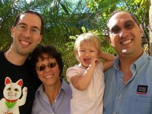 Jordi, Tere, Josie and Gilbert