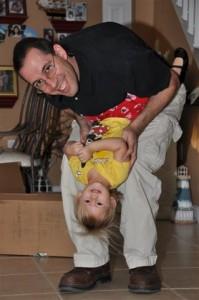 Jordi and Josie playing around