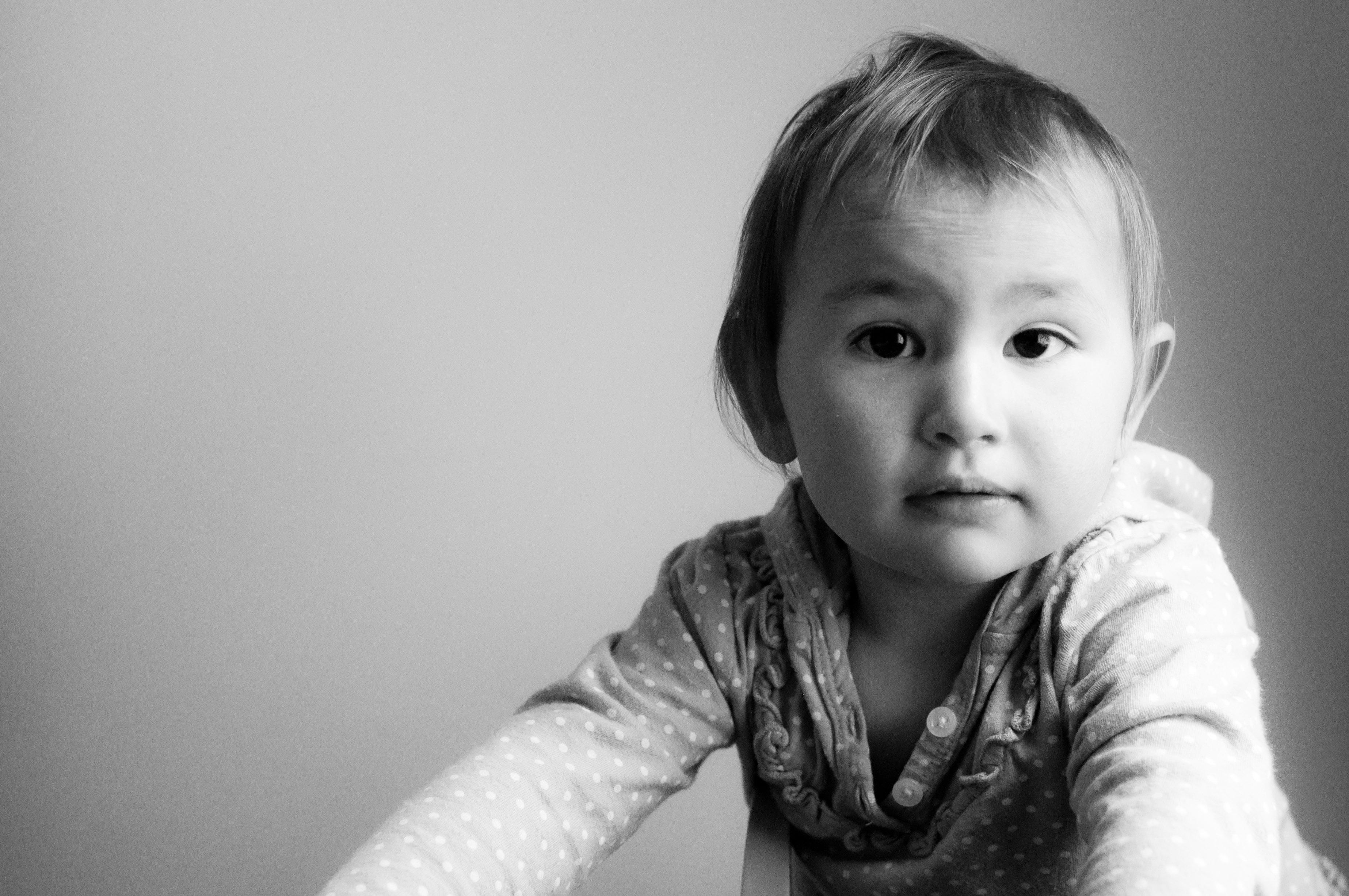 Celia, at 18 months