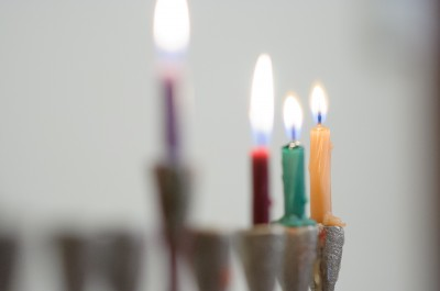 The candles on the third night