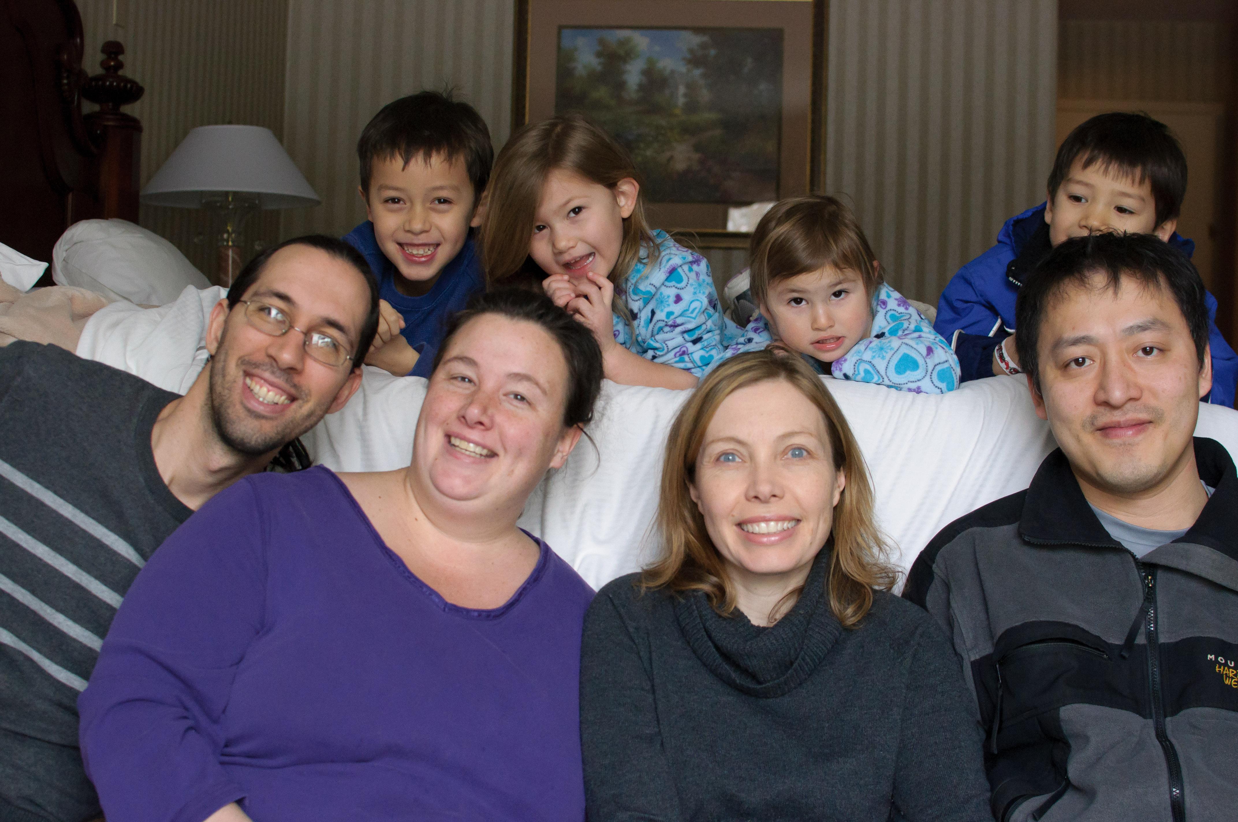 Jordi, Jen, Christina, Chanh (front), E, Josie, Celia, Z (back)