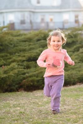 Celia running