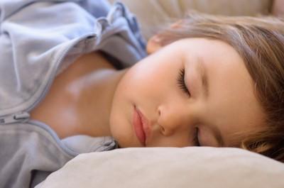 Celia sick and sleeping