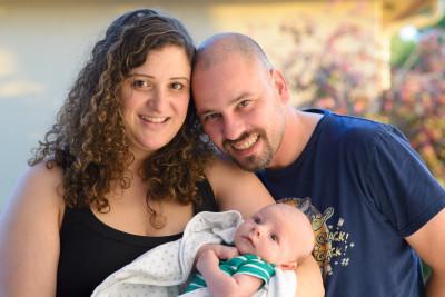 Sonya, Carlos and Benjamin