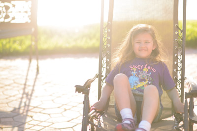 Josie on the chair