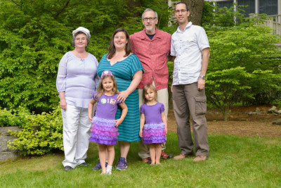 Karen, Josie, Jen, Celia, Mike and Jordi in May 2013