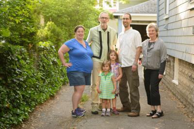 Jen, Mike, Celia, Josie, Jordi and Karen