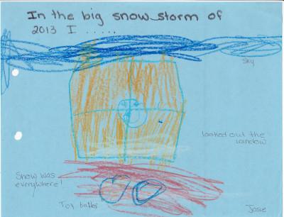 Josie snowstorm