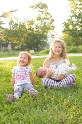 Celia, Ewan and Josie