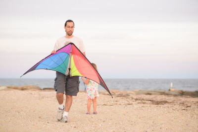Jordi and his kite
