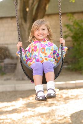 Celia swinging