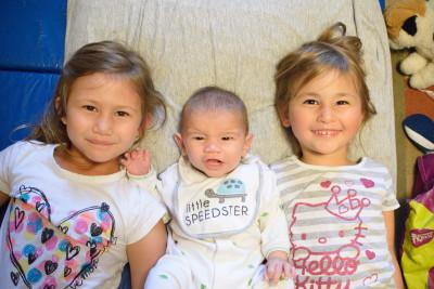 Josie, Ewan and Celia