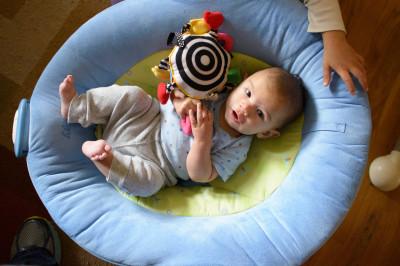 Ewan at three months