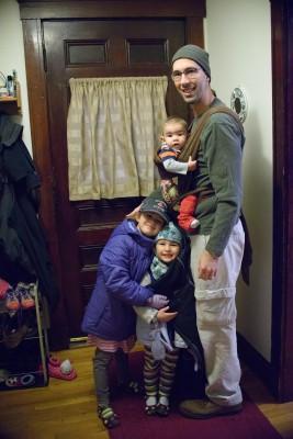 Josie, Celia, Ewan, and Jordi