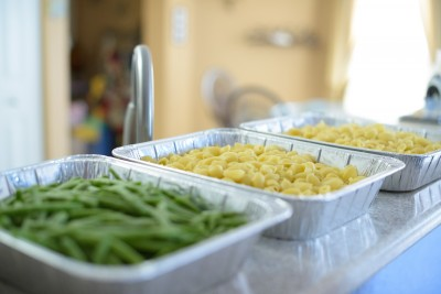 Green beans and pasta