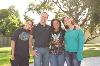 Eric, Luis, Thylma and Sabrina