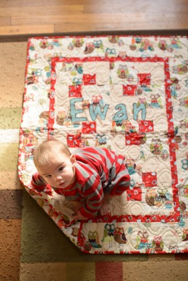 Ewan's quilt