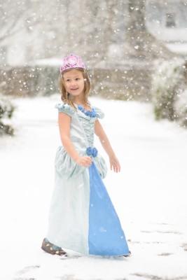 Josie, snow princess