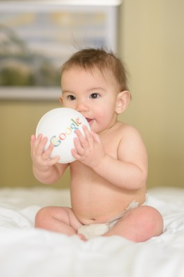 Ewan and a ball