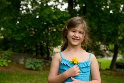 Josie at six