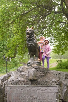 The balto statue