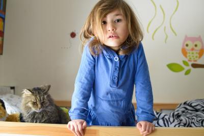 Celia, with Ezzy