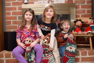 The classic stocking photo