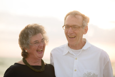 My parents laughing